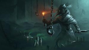 The plague hunter by Istrandar