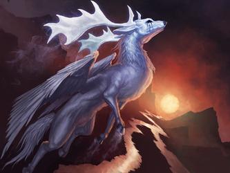 soaring through the dawn by Istrandar