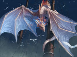 Wyvern of the ship