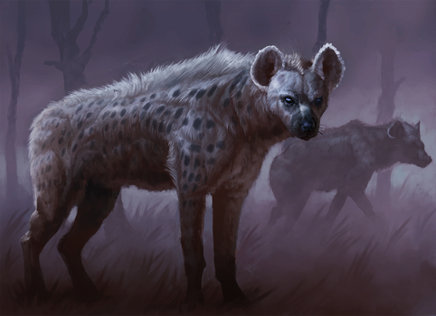 The pack leader