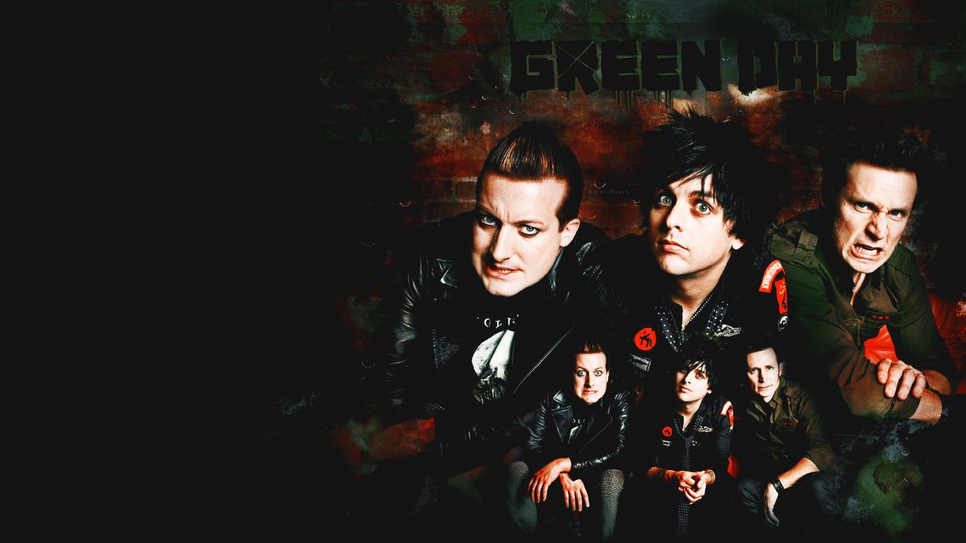 Green Day - 21st Century Breakdown era, wallpaper by sasha9892