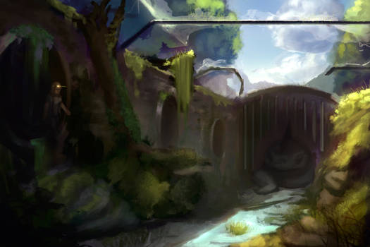 Ruin Landscape