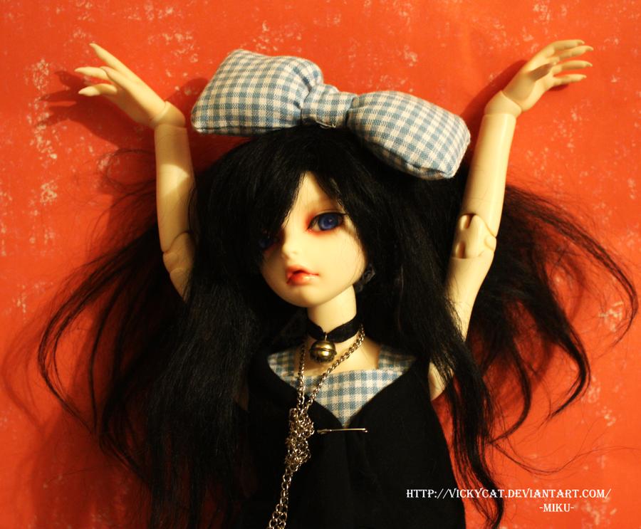 -Hair bow- by Vickycat