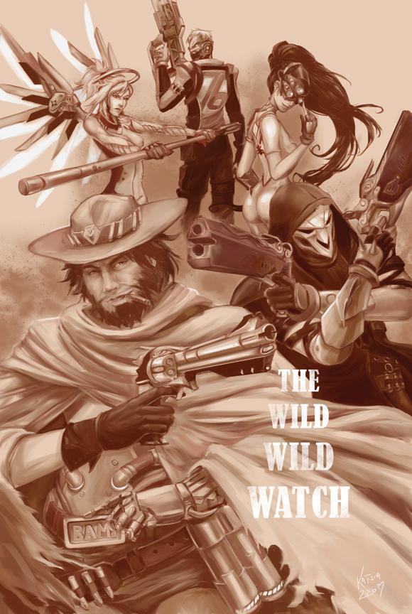 The Wild Wild Watch by katizua
