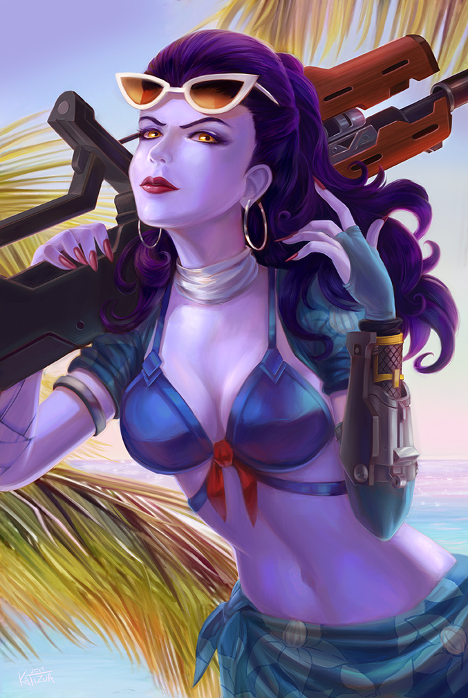 Widowmaker summer! by katizua