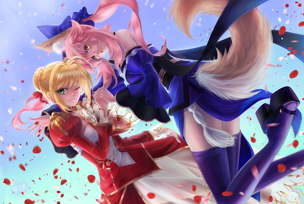 Nero and Tamamo