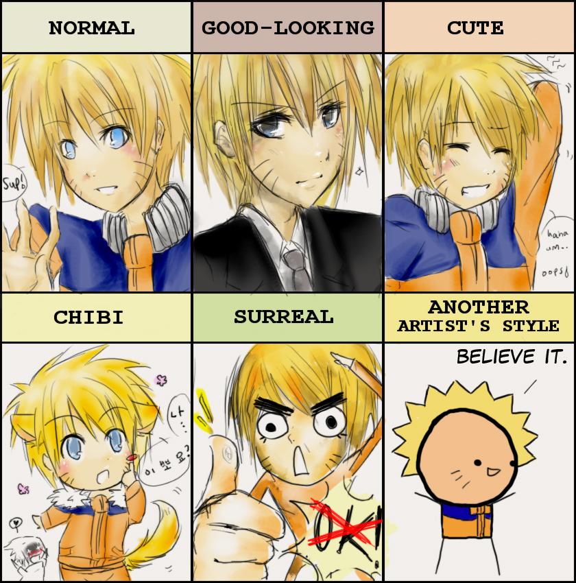 PIXIV Style Meme Naruto By Payoki