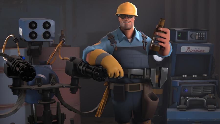Meet The Team - Engineer (Blu) by Moogly96