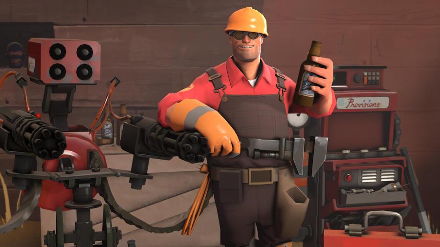 tf2 meet the racist and pervert engineer