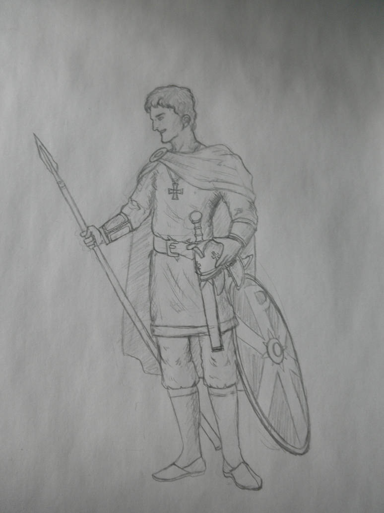 A german soldier of late rome empire by sooboy on DeviantArt