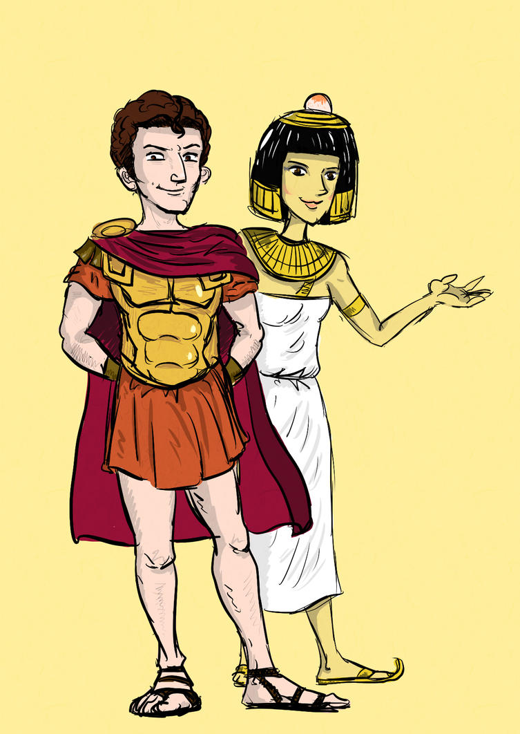 Anthony and Cleopatra by sooboy