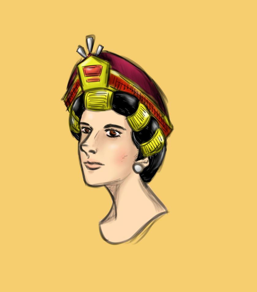A lady by sooboy