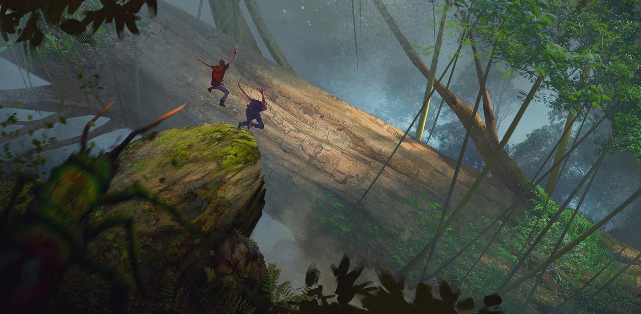 Jungle Fun by jsek