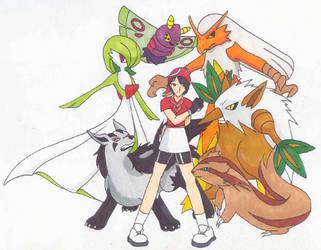 Pokemon by koziloverryo