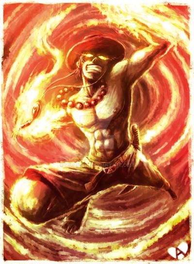 Fire Fist Tornado by mikailain