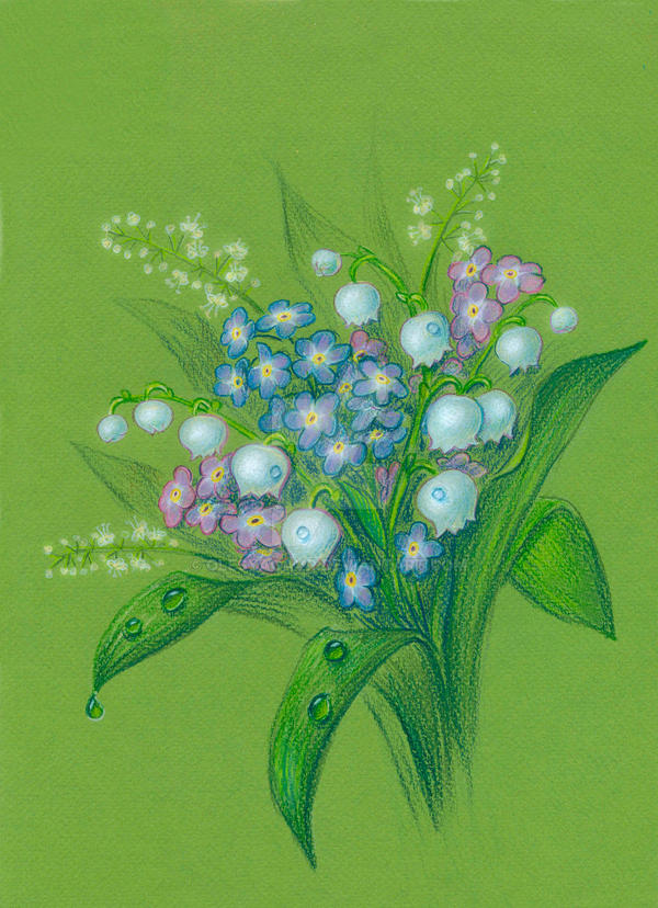 Lily of the valley by OlesyaGavr