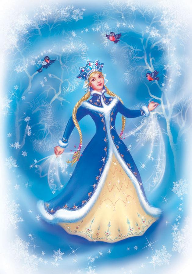Snowgirl by OlesyaGavr