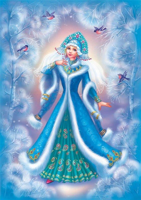 Snowgirl-4 by OlesyaGavr