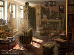 Matte Painting: Mythology_book by OlesyaGavr