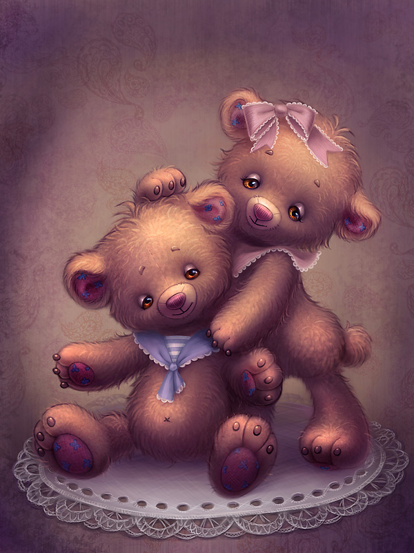 Teddy Bears by OlesyaGavr