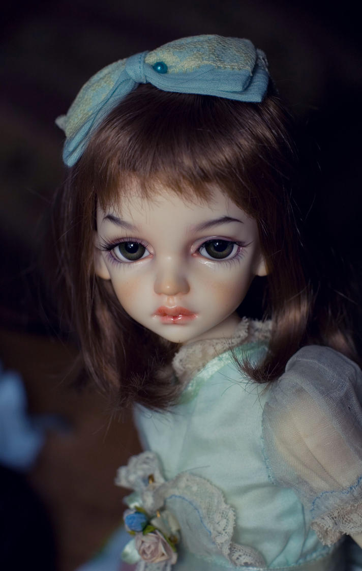 Dimdoll Miru with face-up by me by OlesyaGavr