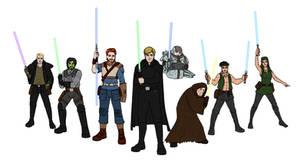 SW Dark Empire: Luke's Jedi Alliance