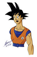 Son Goku by SJWebster