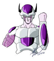 Freeza 2nd Form by SJWebster