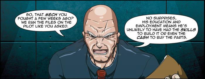 Superheroes Ltd #2 Preview Panel