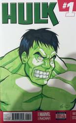 Hulk Variant Cover