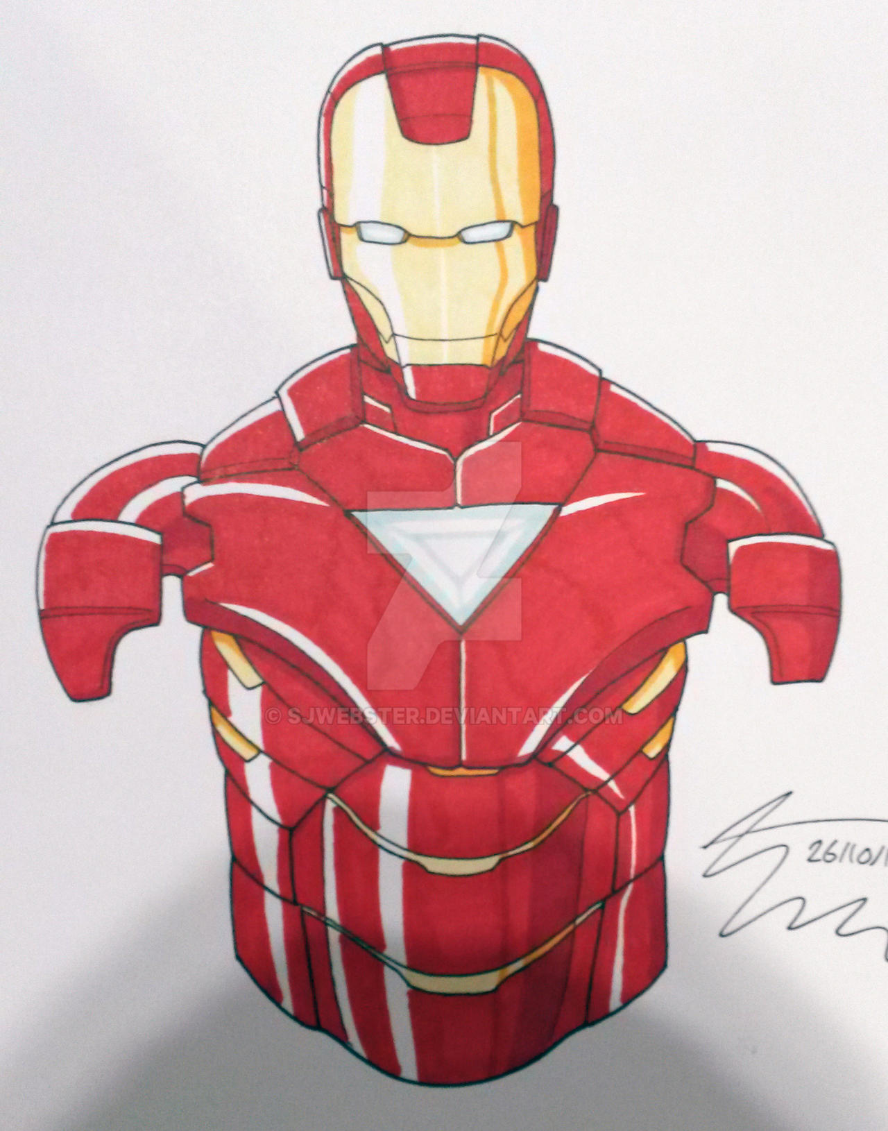 Iron Man by SJWebster
