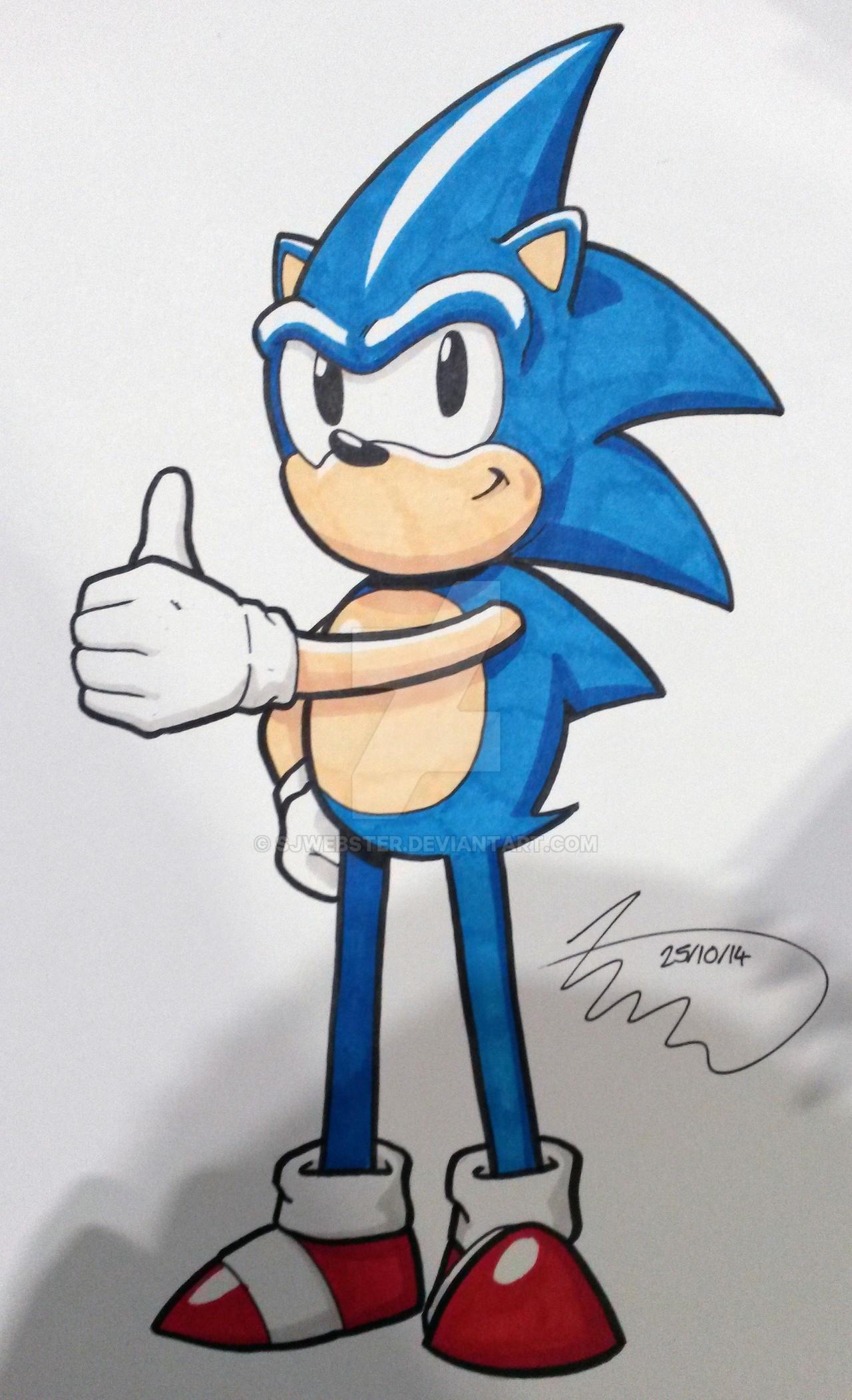 Sonic by SJWebster