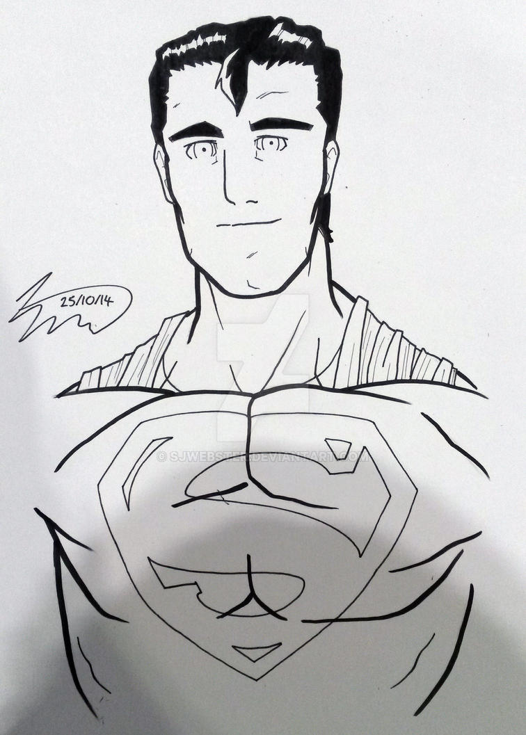 Superman by SJWebster