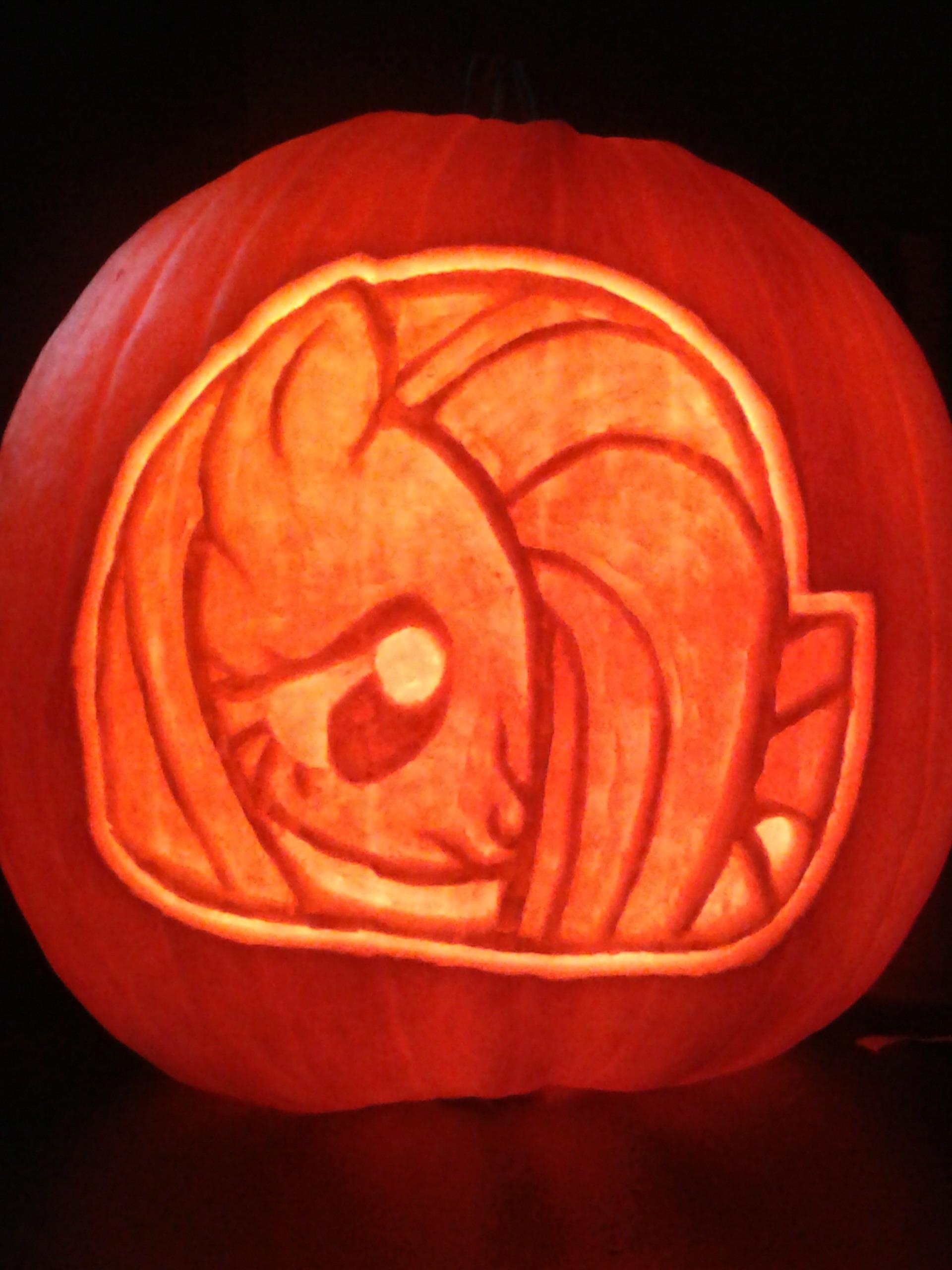 Fluttershy pumpkin carving patterns