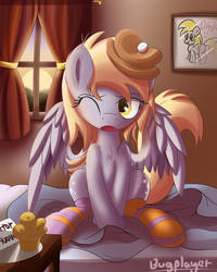 Good Morning Derpy! by Bugplayer