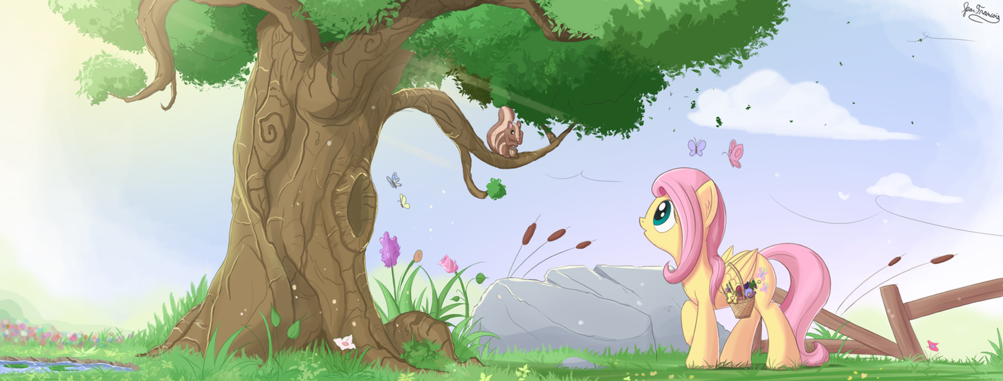 Pony art of the non diabetic variety.  - Page 26 Natural_beauty_by_bugplayer-d9yj4x1