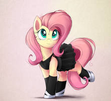 TheMTVGame-Fluttershy-Ballet by Bugplayer