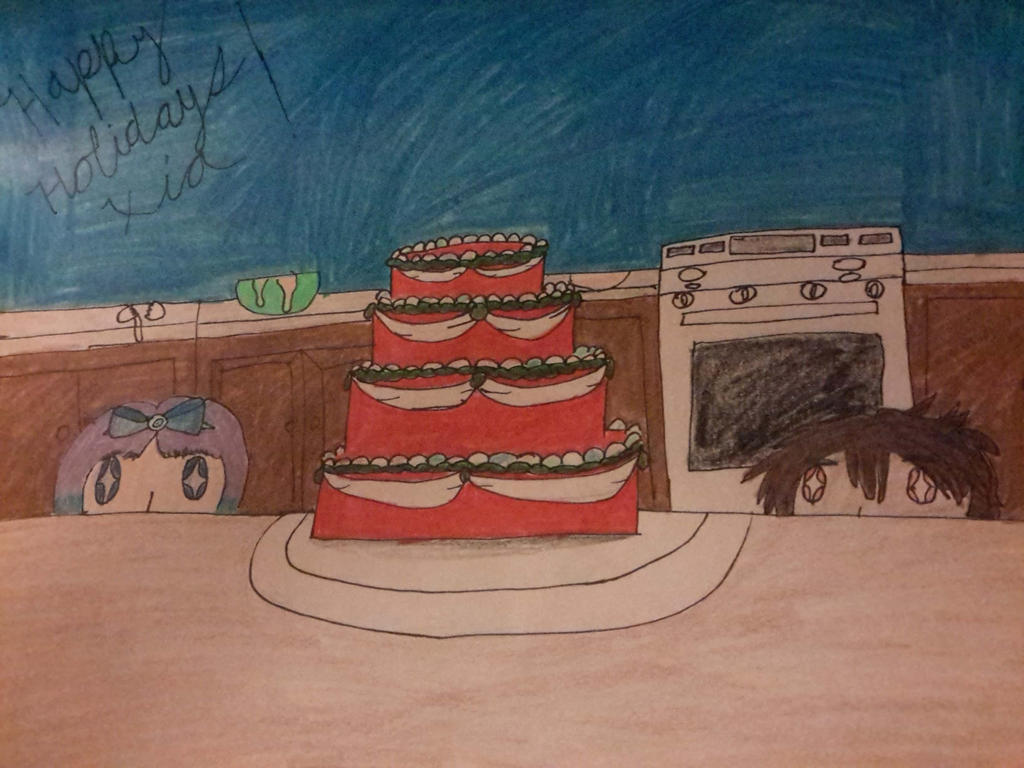 [DROU] Secret Santa-Let them have cake!!! by waterfairy555