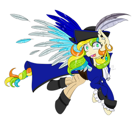 Capa-tain Lilly Cheese! (Commission) by CartoonOwl