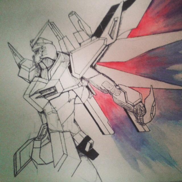 Destiny Gundam : Canvas by sader2617