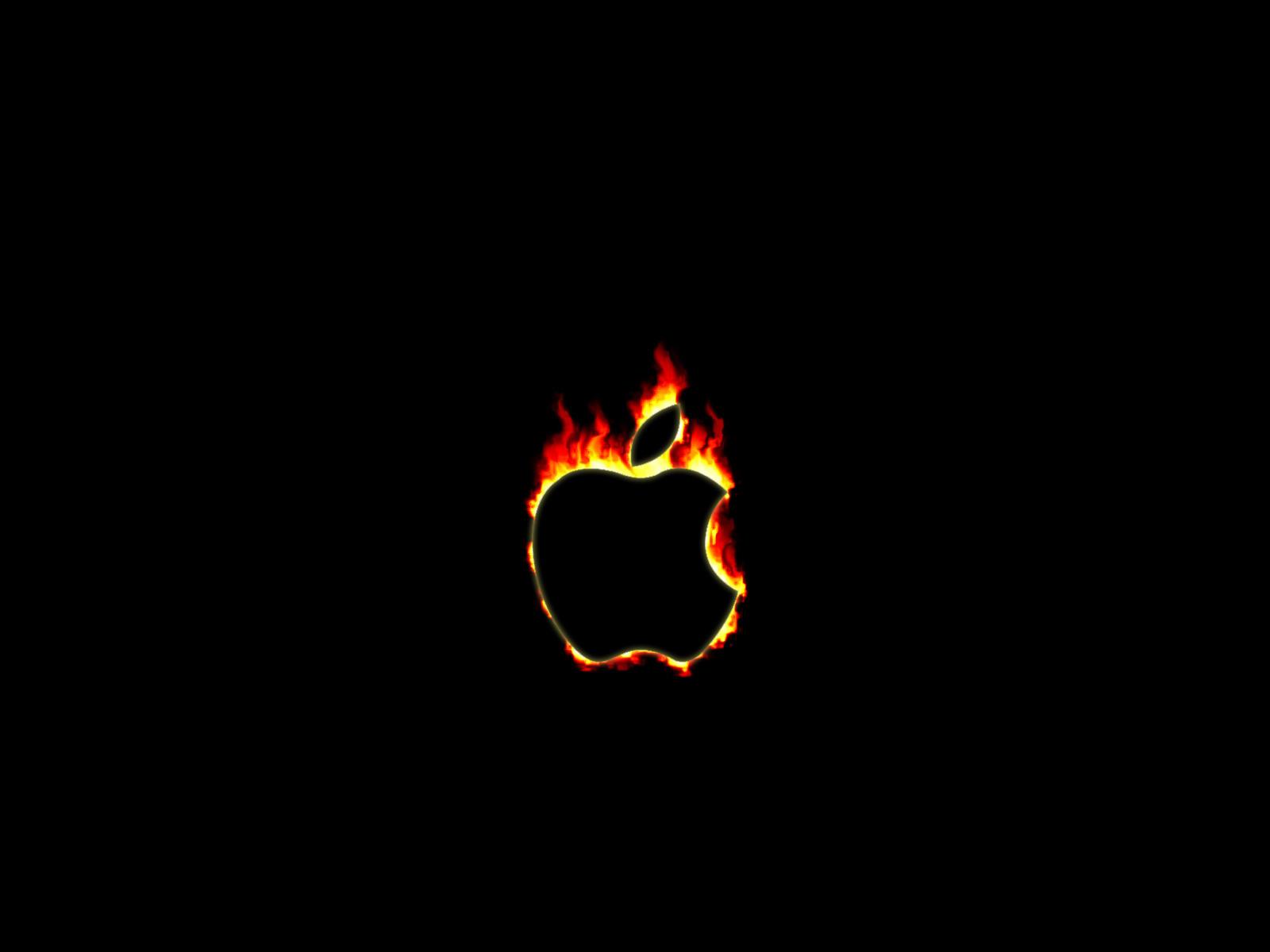 apple fire by signal2noise on deviantart