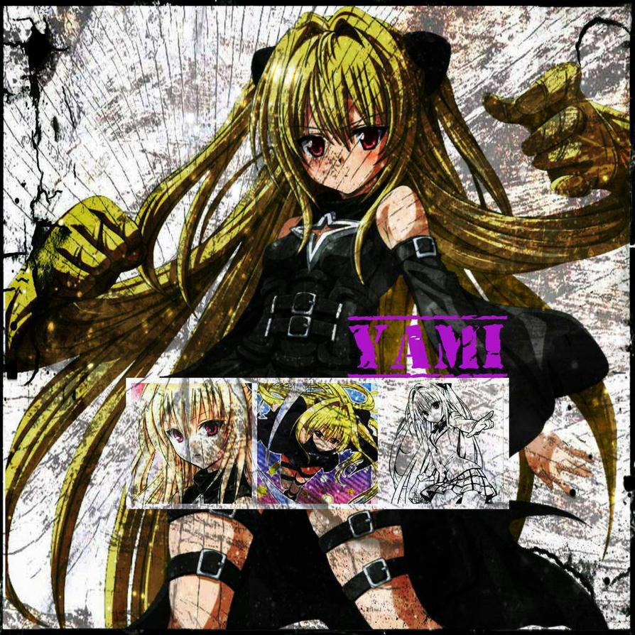 Yami-chan (Golden Darkness) by lamota43