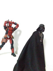 Deadpool and Vader (1) by lamota43