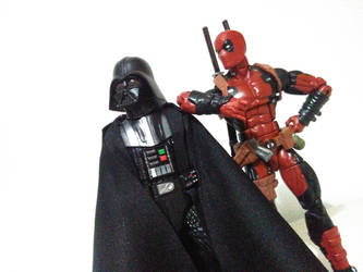 Deadpool and Vader (2) by lamota43