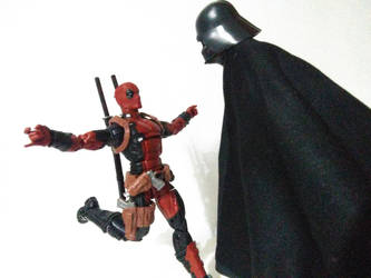 Deadpool and Vader (4) by lamota43