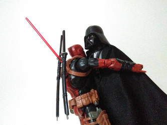 Deadpool and Vader (5) by lamota43