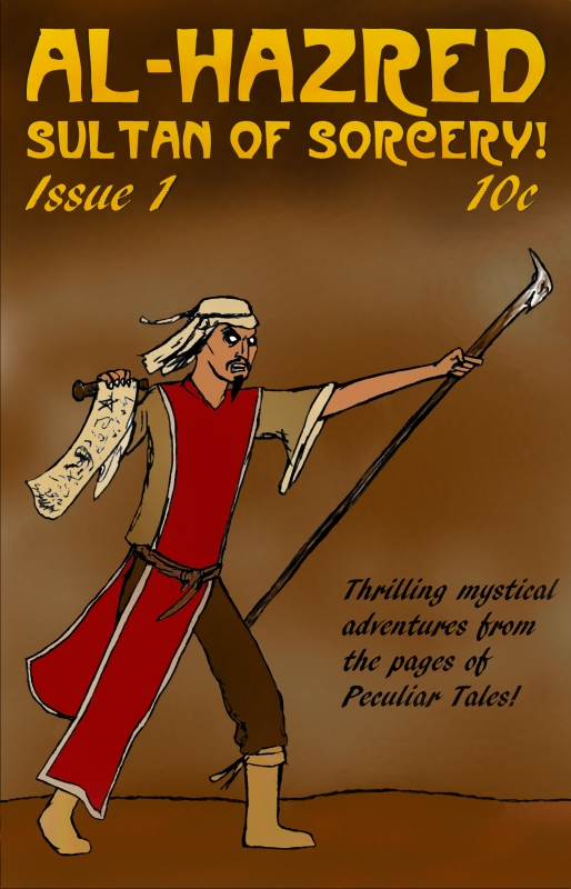 Al-Hazred, Sultan Of Sorcery! Issue 1 by Oxbrow