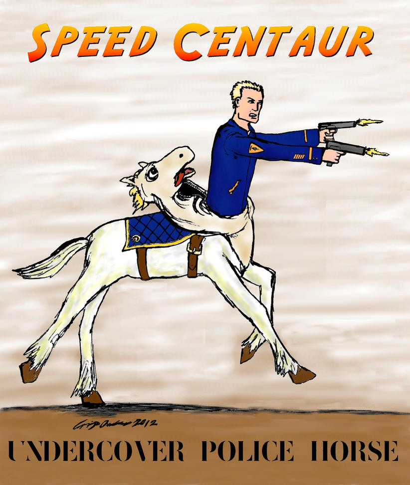 Speed Centaur remake/remodel by CraigOxbrow