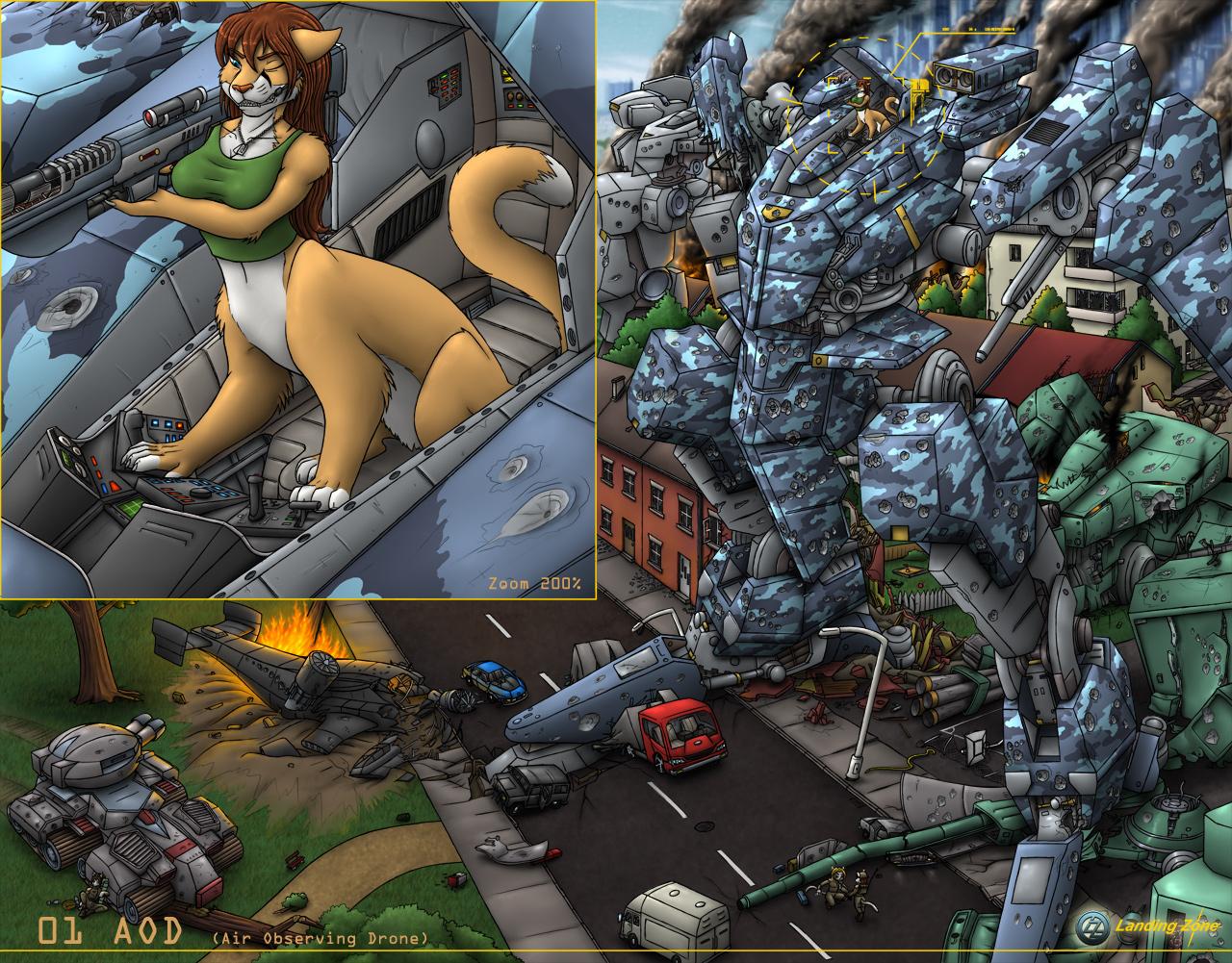 Steel Battle by LandingZone