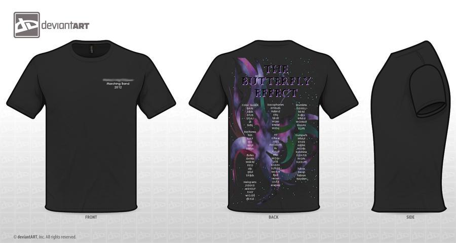 T Shirt Design For Band 2 By Tetrathefrog On Deviantart